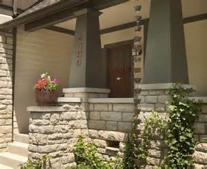 Screened In Front Porch Decorating Ideas by Glamorous Porch Columns Trend Craftsman Style Exterior
