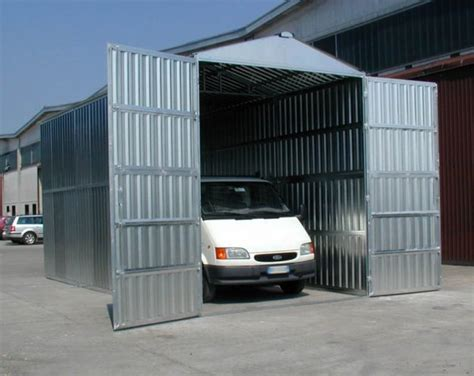 box auto prefabbricato box auto prefabbricato in lamiera zincata componibile a