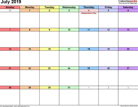 Year Printable Calendar