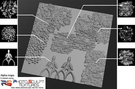 tutorial   create  zbrushsculptris alpha map