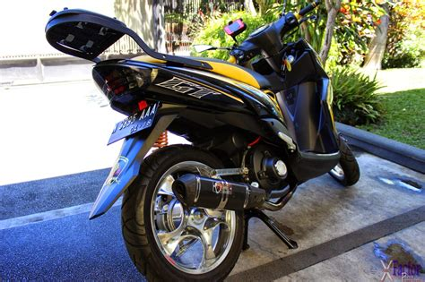 Modification Mio Soul Standar by Mio Soul Gt Modifikasi Standar Thecitycyclist