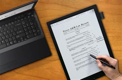sony digital paper  ink tablet gadget flow