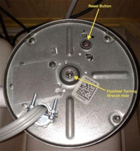 Badger Sink Disposal Reset by Garbage Disposals Mcadams Plumbing Inc