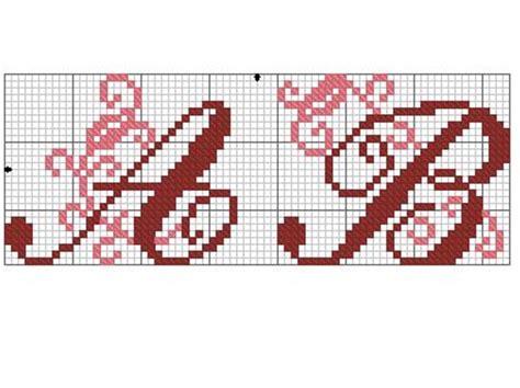modele lettre point de croix gratuit grille gratuite de point de croix lettres ab