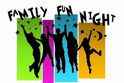 Fun Clipart Night Church Community Event Families