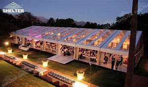 Clear Top Tent - Party Marquee - Luxury Wedding Tent House