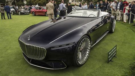 Vision Mercedes-maybach 6 Cabriolet All-electric Luxury