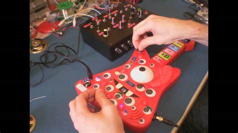 Circuit Bent Gabba Muno Guitar Sequencer
