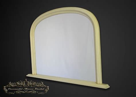 classic cream overmantel mirrors  ornamental mirrors