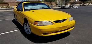 eBay: 1994 Ford Mustang GT 1994 Mustang GT Convertible Canary Yellow #fordmustang #ford | Ford ...
