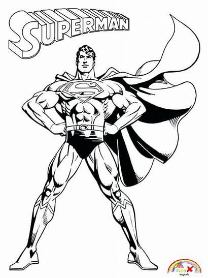 Superman Coloring Printable Blogx Info