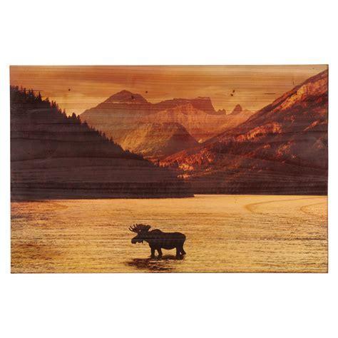 Moose Mountain Wood Panel