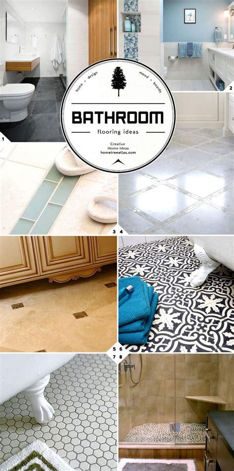 Bathroom Floor Tile Guide by Bathroom Flooring Ideas Guide Designs And Material