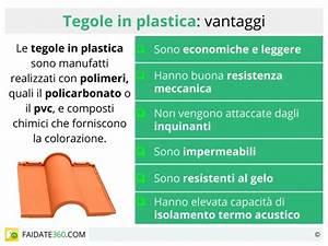 Tegole in plastica: caratteristiche utilizzo e prezzi