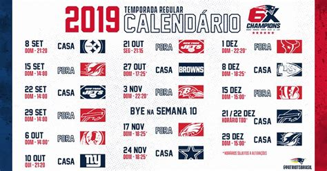 official nfl  england patriots schedule