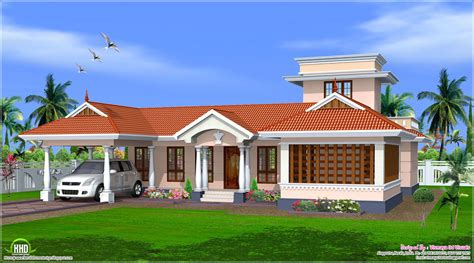 1 home plans 1 floor house plans kerala home design and style
