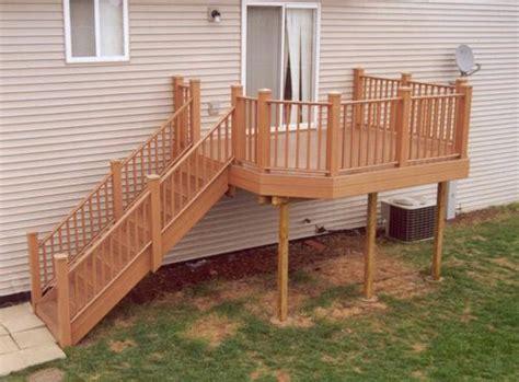 leisure deck building plans   menards