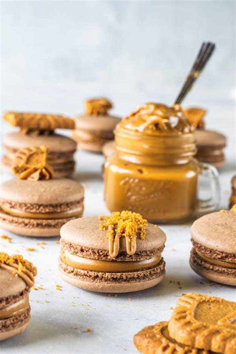 Water from a can of chickpeas. Vegan Biscoff Macarons (french method plus video) - Pies and Tacos