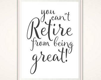 nurse retirement gift retirement quotes printable etsy