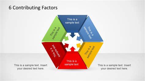 contributing factors diagram template  powerpoint