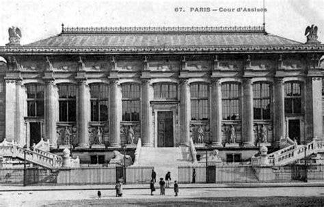 le palais de justice de en 1900