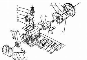 double stage rotary vane series vacuum pumpoil sealed With vacuum pump diagram