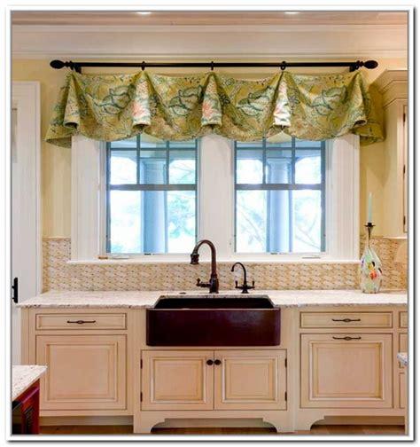 curtain ideas for kitchen windows 15 lovely kitchen curtain ideas home design lover kitchen