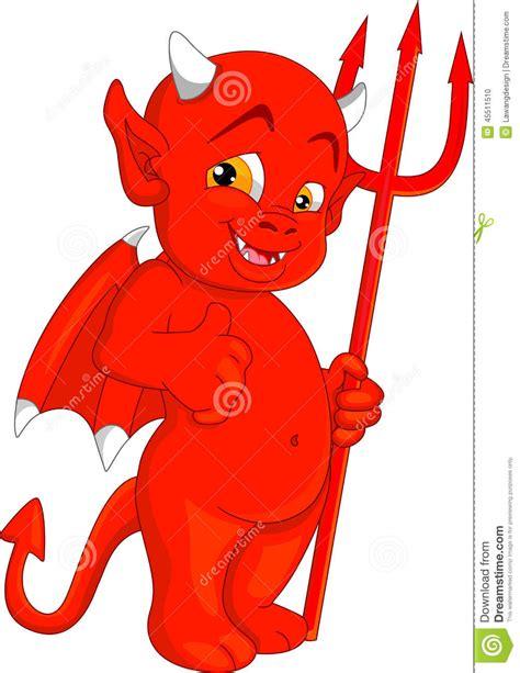 bureau pour tout petit petit diable illustration de vecteur image 45511510