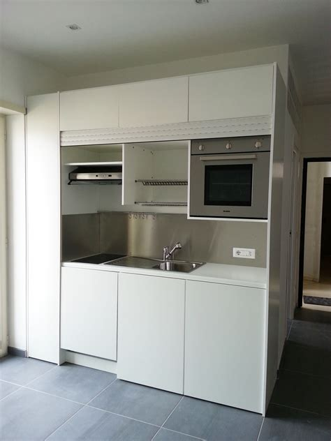 armadio dispensa cucina cucina completa in armadio compact 246 con serranda