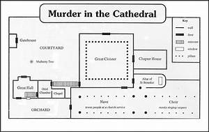 Diagram Of Canterbury Cathedral