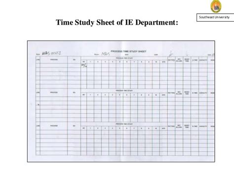 time study effect of work study time study on production and quality