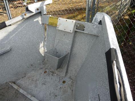 Aluminum Boat Hull Repair by How To Repair Aluminum Boat Hulls