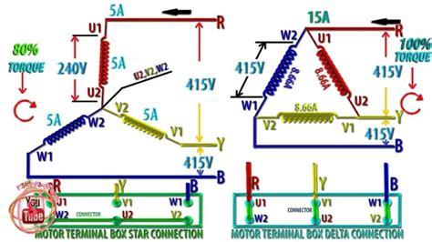 Star Delta Connection Diagram