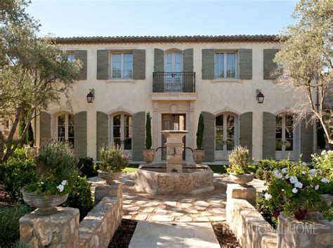 california home  provencal style traditional home