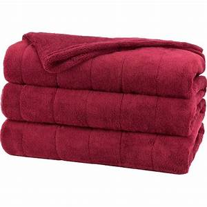 Sunbeam Microplush Heated Blanket With Comforttech