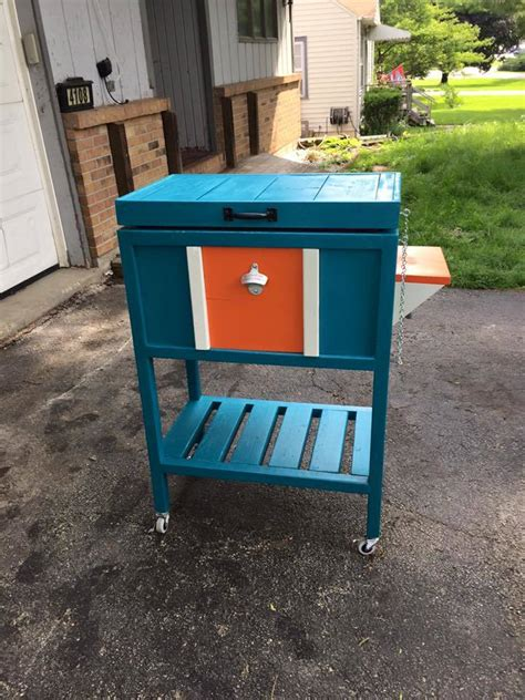 ana white wood cooler box diy projects