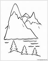 Coloring Mountain Trip Road Lion Alvin Getcolorings Printable Nature Chipmunks sketch template