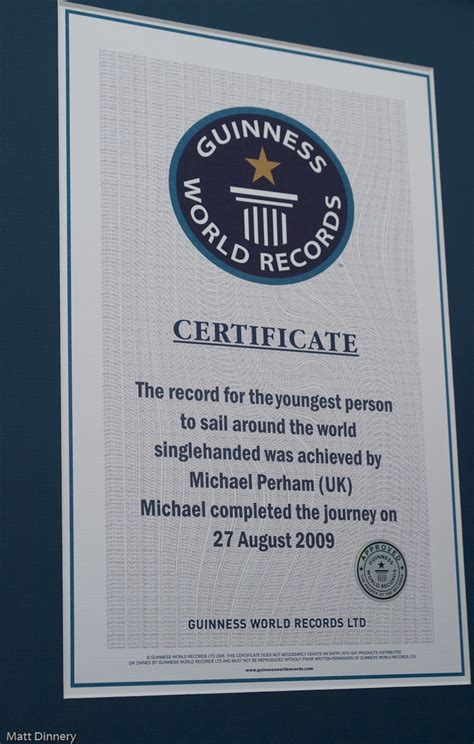 World Record Certificate Template by Guinness World Record Certificate Template Image