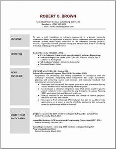 10 free resume objective examples writing resume sample With all resume format