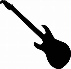Electric Guitar Clipart Black And White | Clipart Panda ...