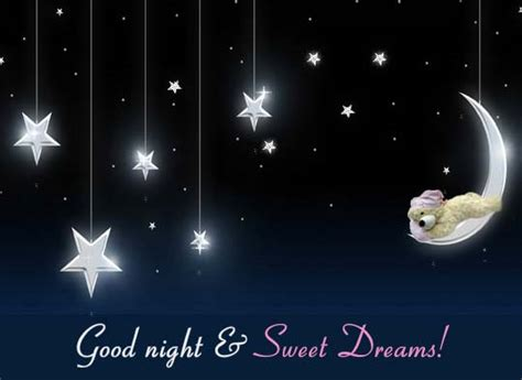 good night sweet dreams  good night ecards