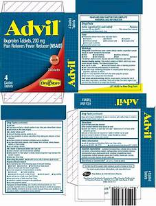 Advil  Tablet  Coated  Lil U0026 39  Drug Store Products  Inc