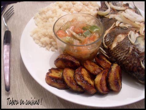 comment cuisiner les bananes plantain recettes de banane plantain par tabou en cuisine attiéké