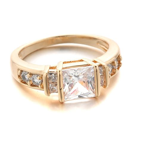 quality cubic zirconia wedding rings 2015 new wedding rings with stone for women high quality