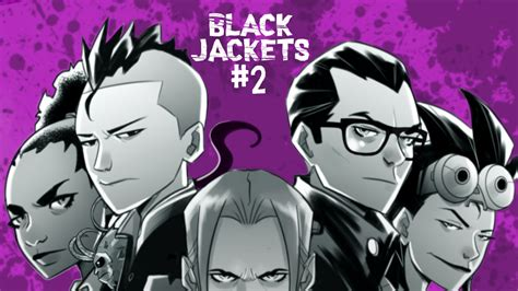 Black Jackets #1-2: an action horror comic series by ...