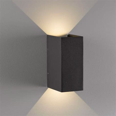 nordlux norma outdoor led wall light grey