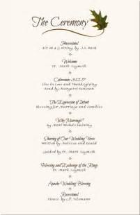 wedding reception template wedding programs wedding program wording program sles program exles wedding program templates