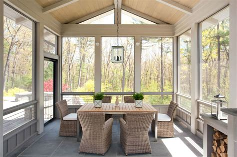 glass enclosed patio design ideas