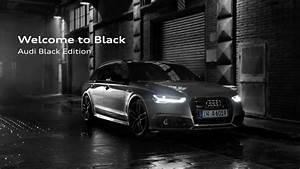 2017 Audi A6 Avant Black Edition - YouTube