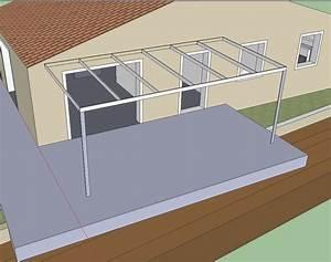 Pergola Acier Autoconstruction : projet de pergola en acier ~ Farleysfitness.com Idées de Décoration